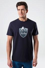 Κοντομάνικη μπλούζα LOAP Alesh μπλε