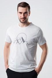Κοντομάνικη μπλούζα LOAP Bogar γκρι
