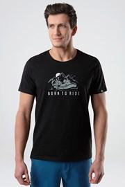 Κοντομάνικη μπλούζα LOAP Ballu μαύρο