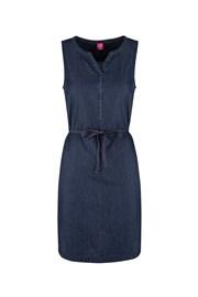 Γυναικείο σκούρο μπλε αθλητικό φόρεμα LOAP Nermin
