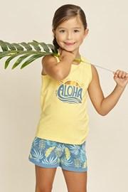 Πιτζάμα για κορίτσια Aloha Palms