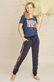 Γυναικείο παντελόνι πιτζάμας Navy