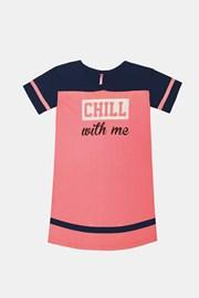 Νυχτικό για κορίτσια Crew ροζ