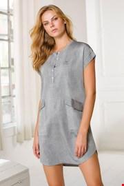 Γυναικείο casual φόρεμα Navetta γκρι