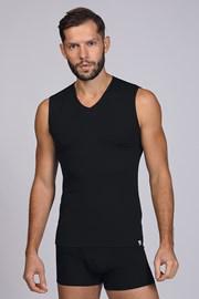 Μαύρο μπλουζάκι αμάνικο