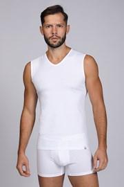 Λευκό μπλουζάκι αμάνικο
