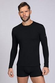 Μαύρο μπλουζάκι με μακρύ μανίκι