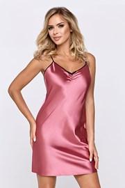 Σατέν νυχτικό Escora ροζ