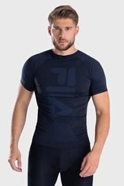 Σκούρο μπλε λειτουργικό μπλουζάκι FILA Dryarn Tech