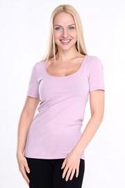 Γυναικείο basic μπλουζάκι με κοντό μανίκι Manica