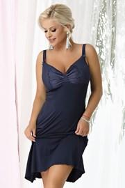 Γυναικείο νυχτικό  Gina Navy blue