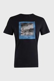 Σκούρο μπλε μπλουζάκι Sea