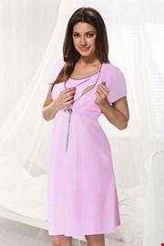 Νυχτικό θηλασμού Dorota ροζ