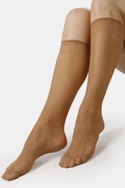 Γυναικείες νάιλον κάλτσες μέχρι το γόνατο EVONA Lenka 17 DEN