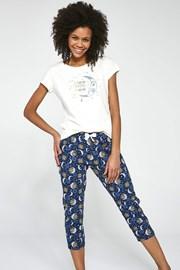 Γυναικείο σετ πυτζάμες τριών κομματιών To the Moon