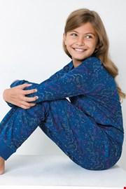 Πιτζάμα για κορίτσια Unicorn μπλε