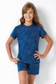 Πιτζάμα για κορίτσια Unicorn II μπλε