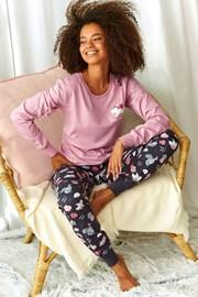 Γυναικείες πιτζάμες Sonya ροζ