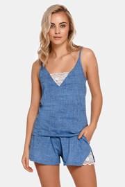 Γυναικείες βαμβακερές πυτζάμες Sarai