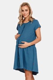 Νυχτικό μητρότητας θηλασμού Tasca Blue