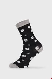 Γυναικείες κάλτσες BlackWhite μαύρες