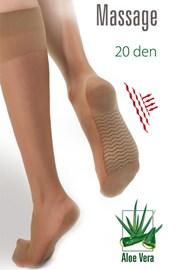 Κάλτσες μέχρι το γόνατο Massage 20 DEN