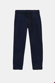 Παιδικό παντελόνι φόρμας μπλε σκούρο