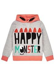 Φούτερ για κορίτσια Happy Monster