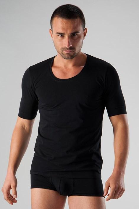 Ανδρικό μπλουζάκι basic μαύρο