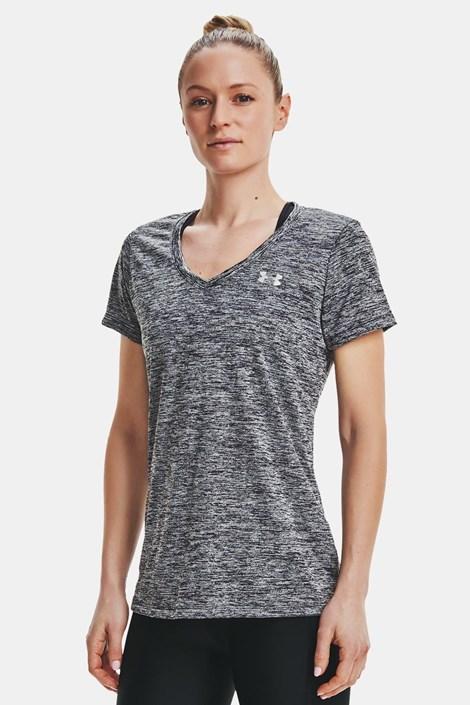 Αθλητικό μπλουζάκι Under Armour Twist μαύρο