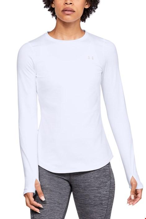 Άσπρη αθλητική μπλούζα Under Armour Crew