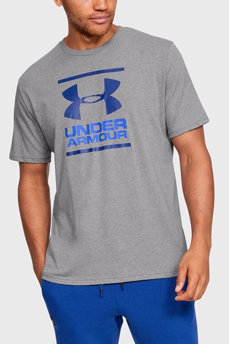 Γκρι και μπλε μπλουζάκι Under Armour Foundation