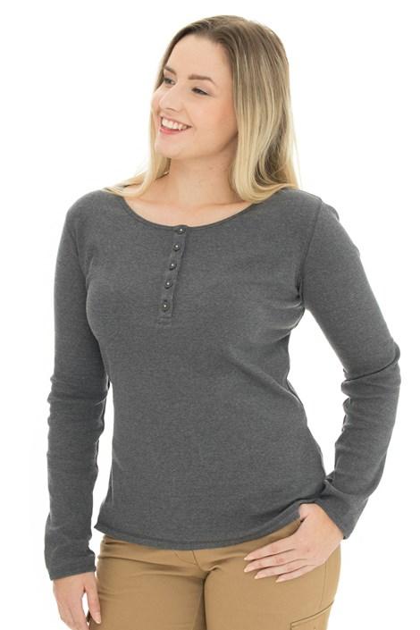 Γυναικείο γκρι μπλουζάκι Bushman Diana