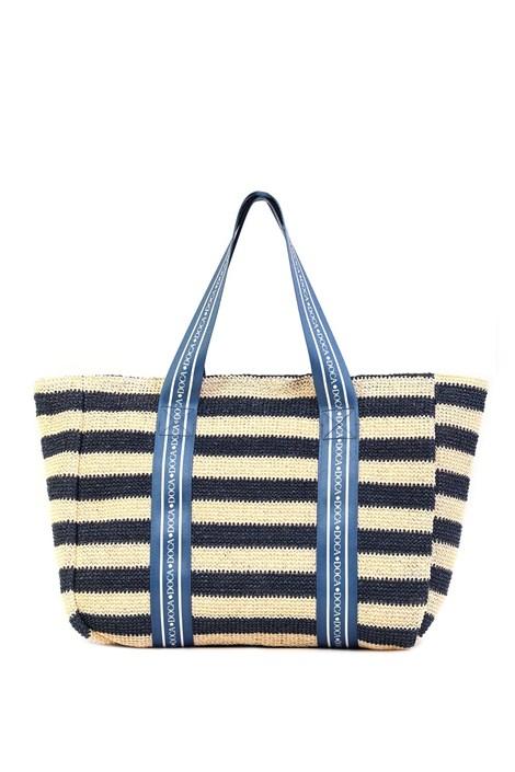 Γυναικεία τσάντα παραλίας Elle μπλε