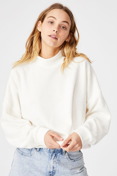 Γυναικεία μπλούζα Brina Oversized μπεζ