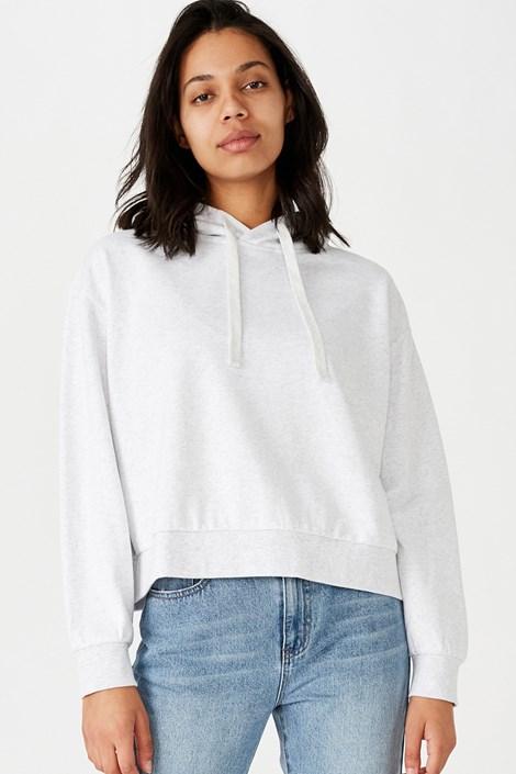 Γυναικείο λευκό φούτερ
