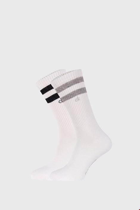 2 PACK κάλτσες Calvin Klein Maurice λευκές