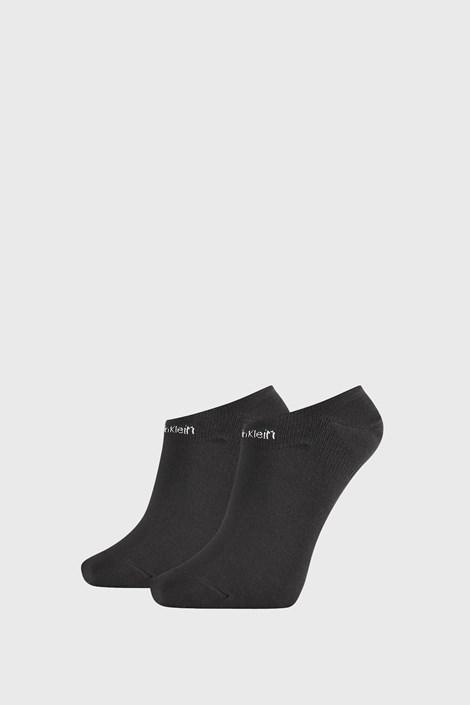 2 PACK γυναικείες κάλτσες Calvin Klein Leanne μαύρες