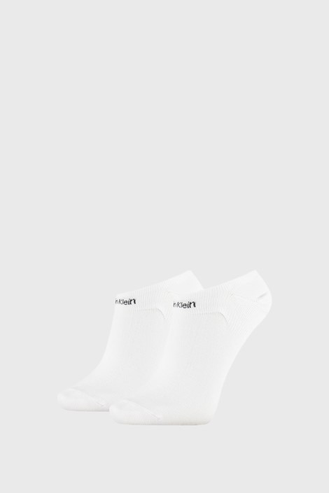 2 PACK γυναικείες κάλτσες Calvin Klein Leanne λευκές