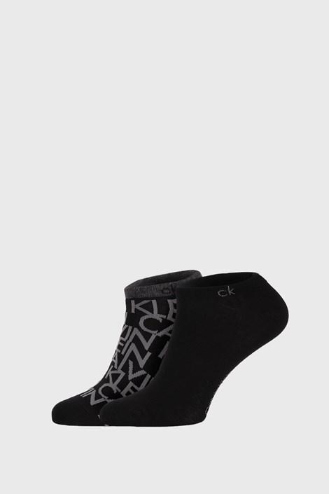 2 PACK μαύρες κάλτσες Calvin Klein Deangelo