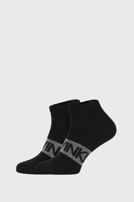 2 PACK κάλτσες Calvin Klein Dirk μαύρες