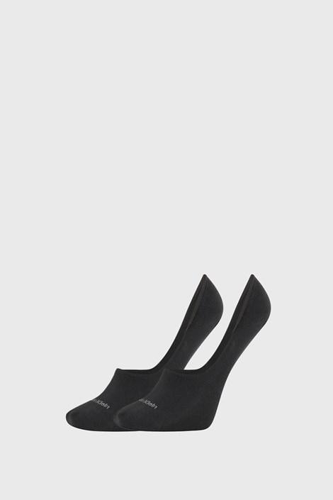 2 PACK γυναικείες κάλτσες Calvin Klein Jessica μαύρες