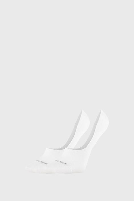 2 PACK γυναικείες κάλτσες Calvin Klein Jessica λευκές
