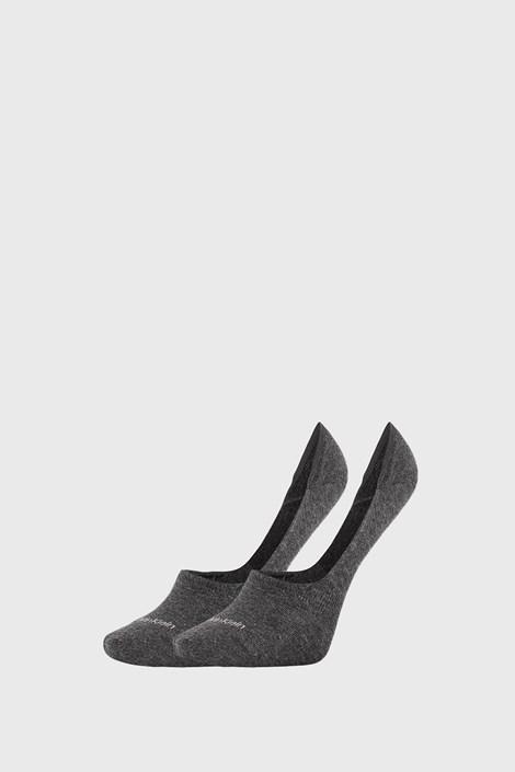 2 PACK γυναικείες κάλτσες Calvin Klein Jessica γκρι