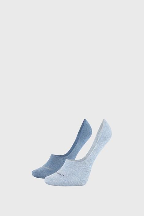 2 PACK γυναικείες κάλτσες Calvin Klein Jessica μπλε