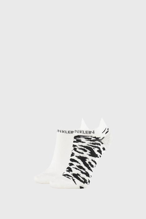 2 PACK γυναικείες κάλτσες Calvin Klein Libby λευκές