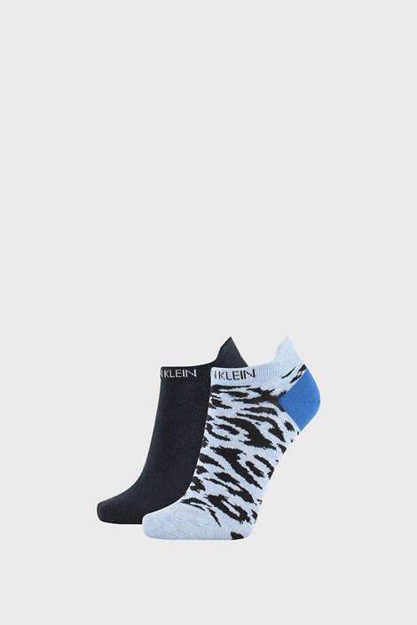 2 PACK γυναικείες κάλτσες Calvin Klein Libby μπλε