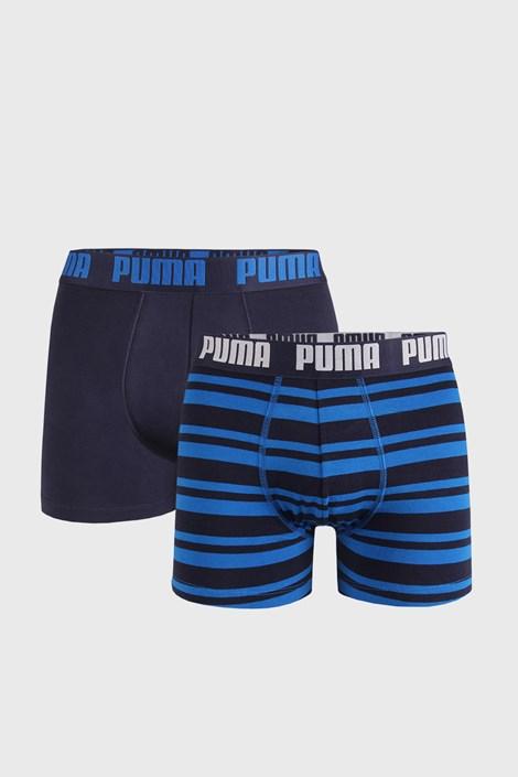 2 PACK μπλε μποξεράκια Puma Heritage Stripe