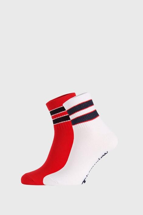 2 PACK κάλτσες Champion Legacy κόκκινο / λευκό
