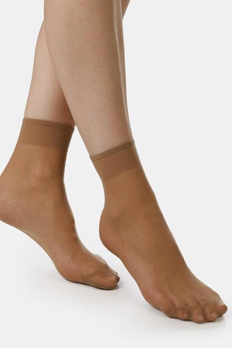 2 PACK γυναικείες νάιλον κάλτσες EVONA Silver 20 DEN